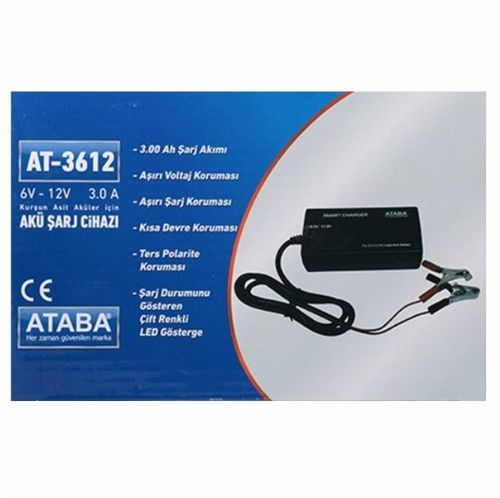 ATABA AT-3612 6V-12V ( 3Ah) Kademeli Switch Mode A