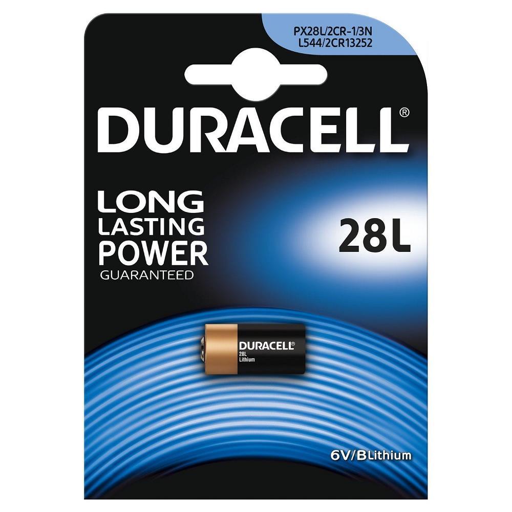 DURACELL 28L 6V Lithium Pil / Tekli Ambalaj