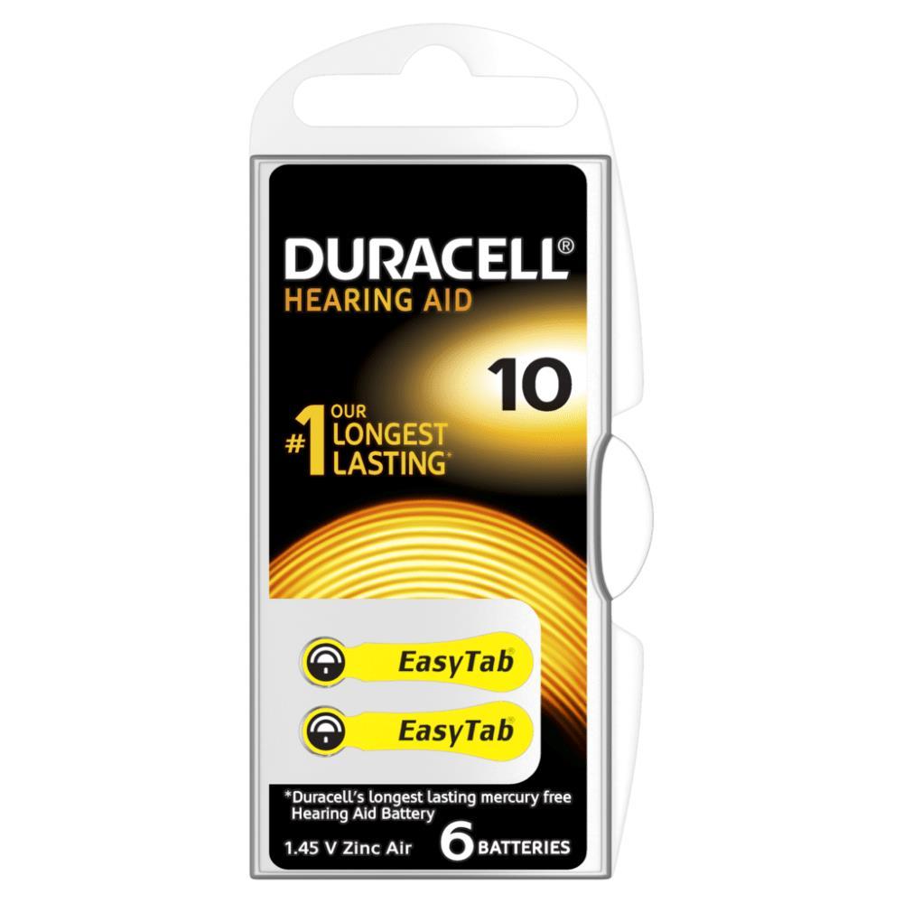 DURACELL ACTIVAIR 10 Numara İşitme Cihazı Pili / P