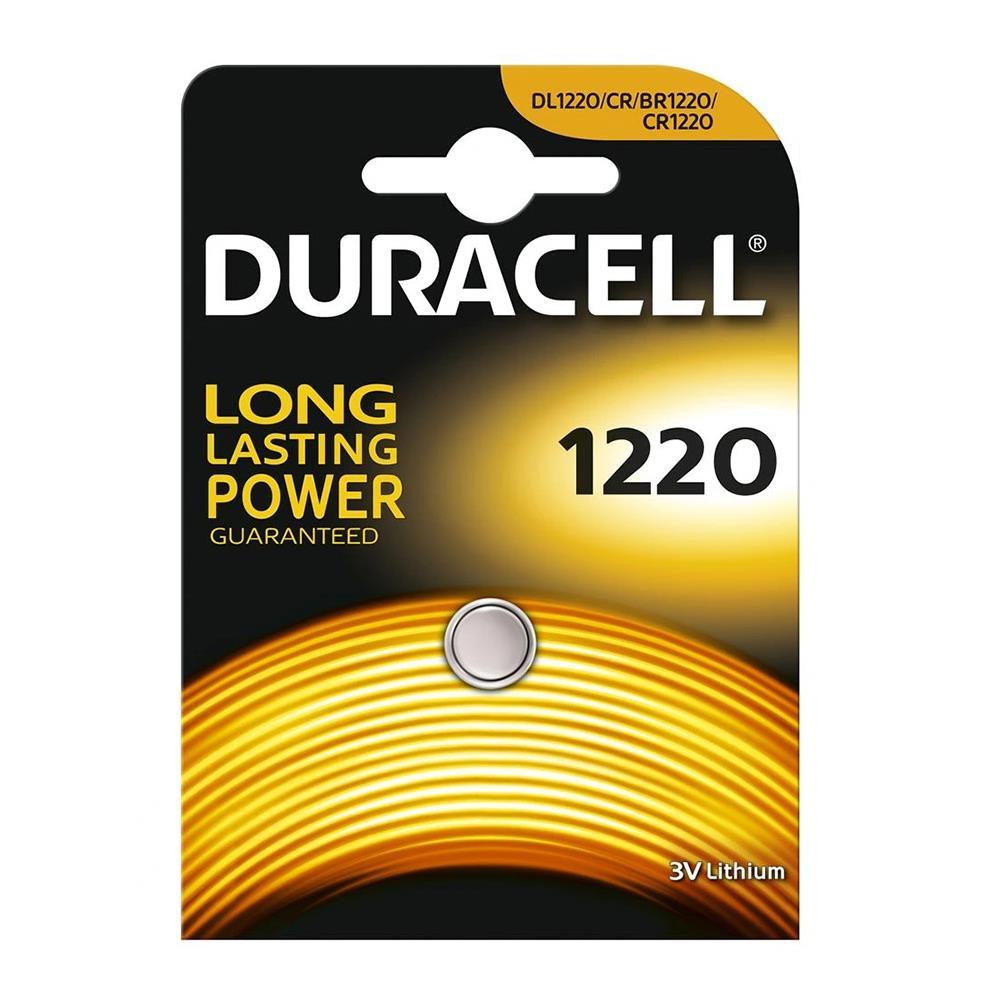 DURACELL CR1220 3v Lityum Pil / Duracell DL1220 Pi