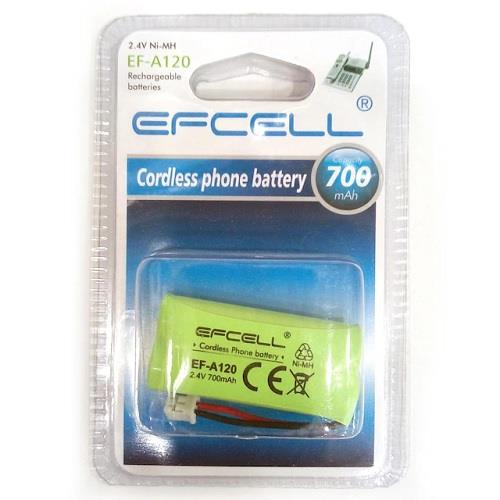 EFCELL EF-A120 2.4V 700mAh Telsiz Telefon Pili