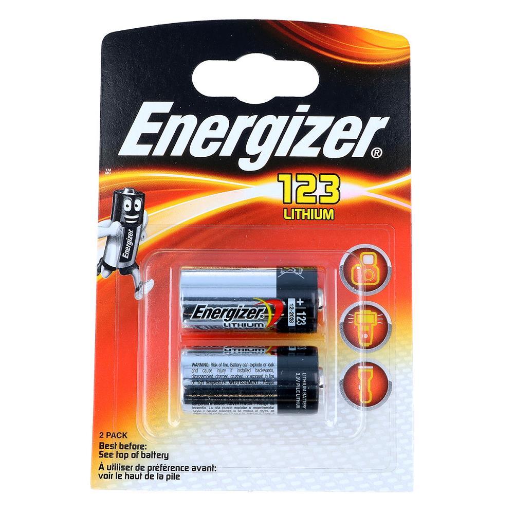 Energizer CR123A 3V Lityum Pil 2\'li Paket