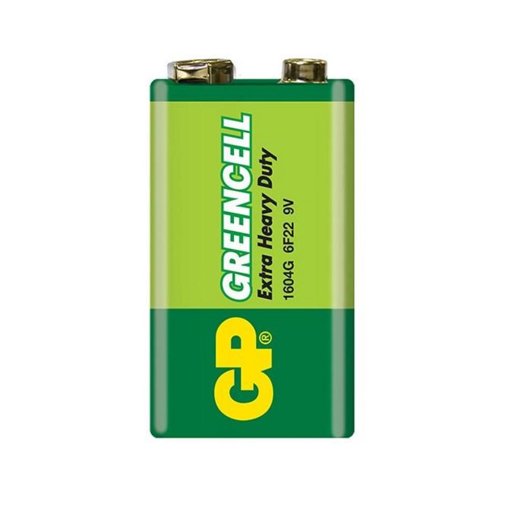 GP 6F22 Greencell 9V Pil