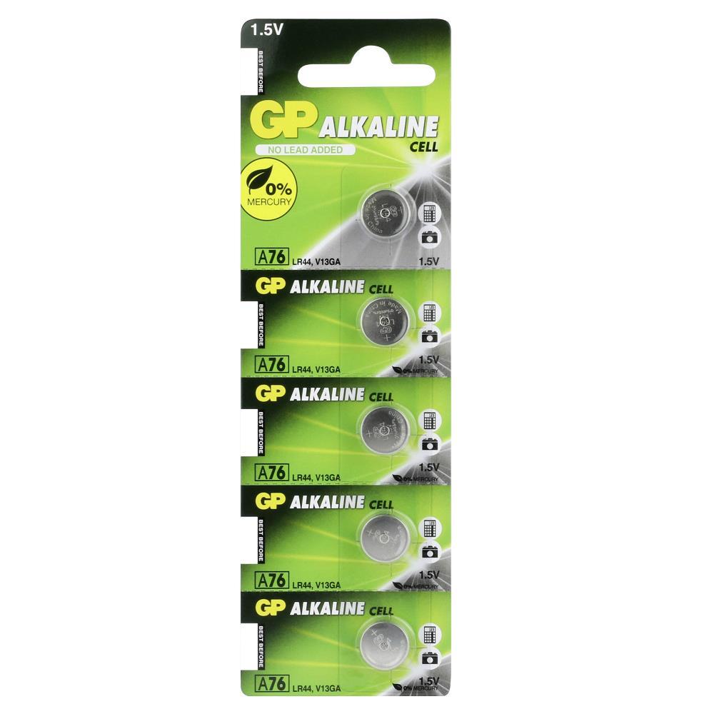 GP A76 1.5V Alkalin Pil 5\'li Paket