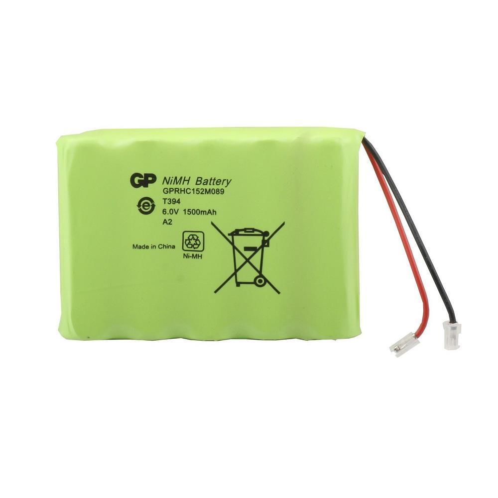 GP T394 6.0V 1500mAh Şarj Edilebilir Telsiz Telefon Pili 5\'li Paket