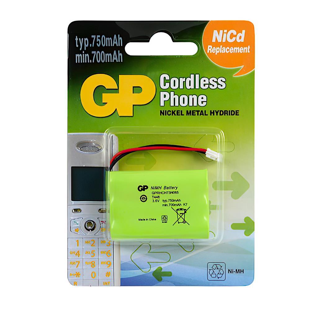 GP T446 3.6V 750mAh Şarj Edilebilir Telsiz Telefon Pili