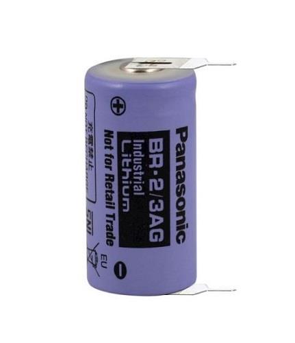 Panasonic BR-2/3AG Lityum Pil 2 Ayaklı