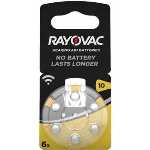 Rayovac 10 Numara PR70 İşitme Cihazı Pili 6\'lı Paket