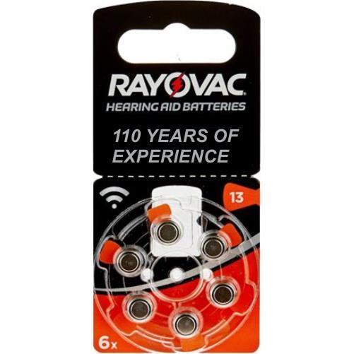 Rayovac 13 Numara PR48 İşitme Cihazı Pili 6\'lı Paket