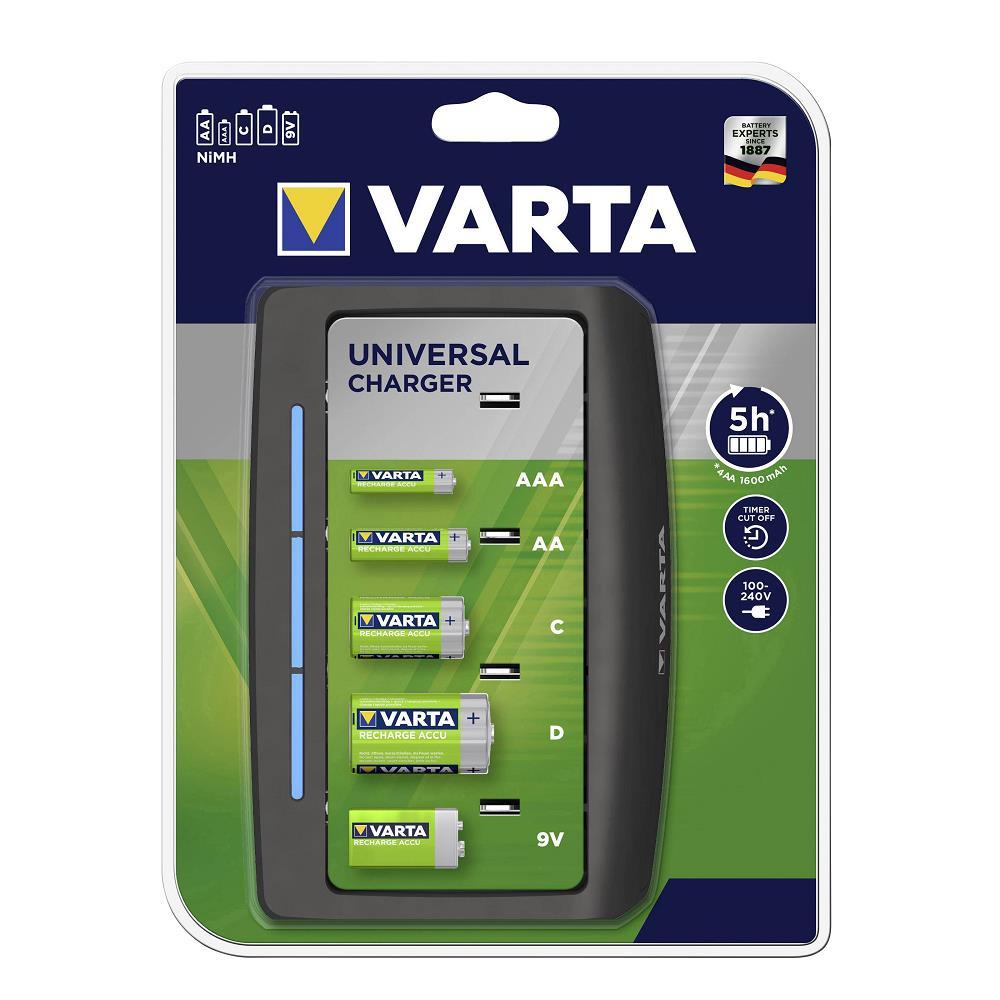 Varta 57648 Universal Pil Şarj Cihazı / Pilsiz