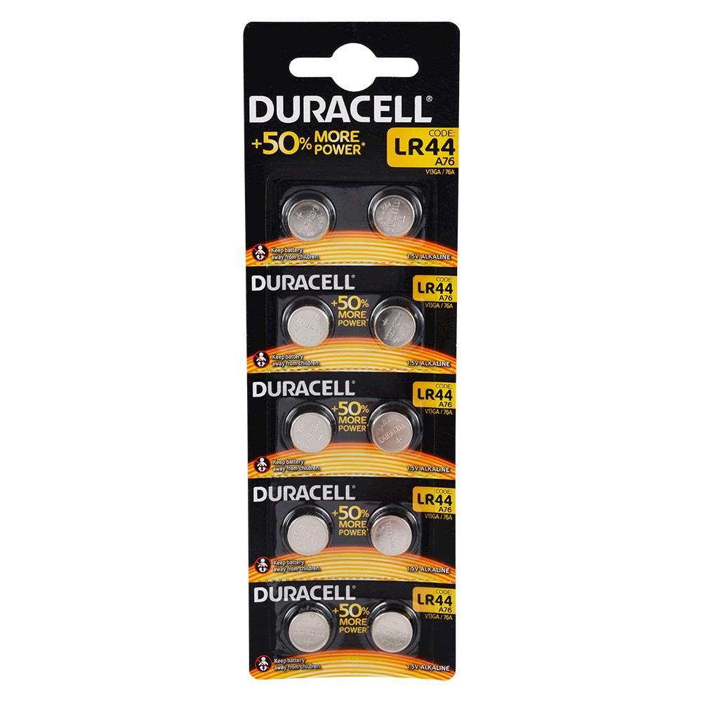 Duracell LR44 Pil 10\'lu Paket