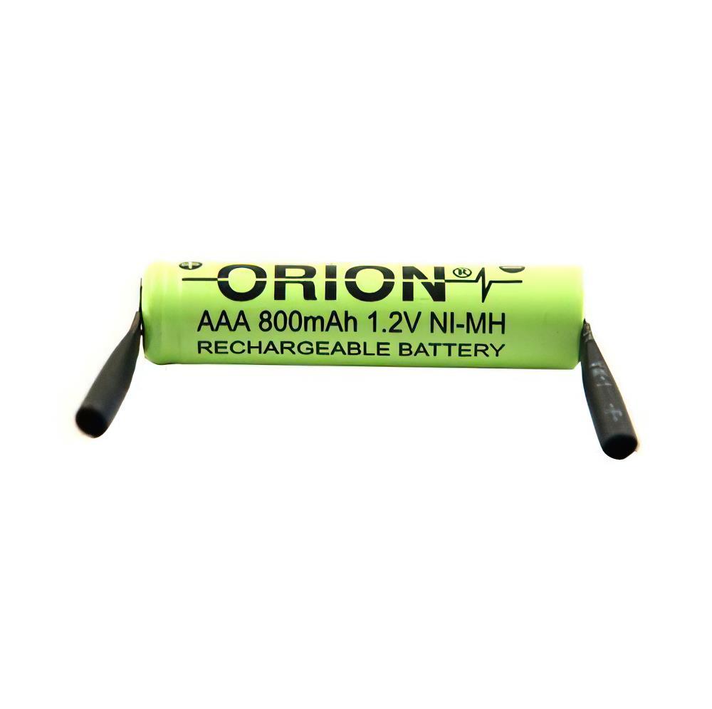 Orion 1.2V Ni-Mh AAA  800mAh Şarj Edilebilir Pil 2 Ayaklı