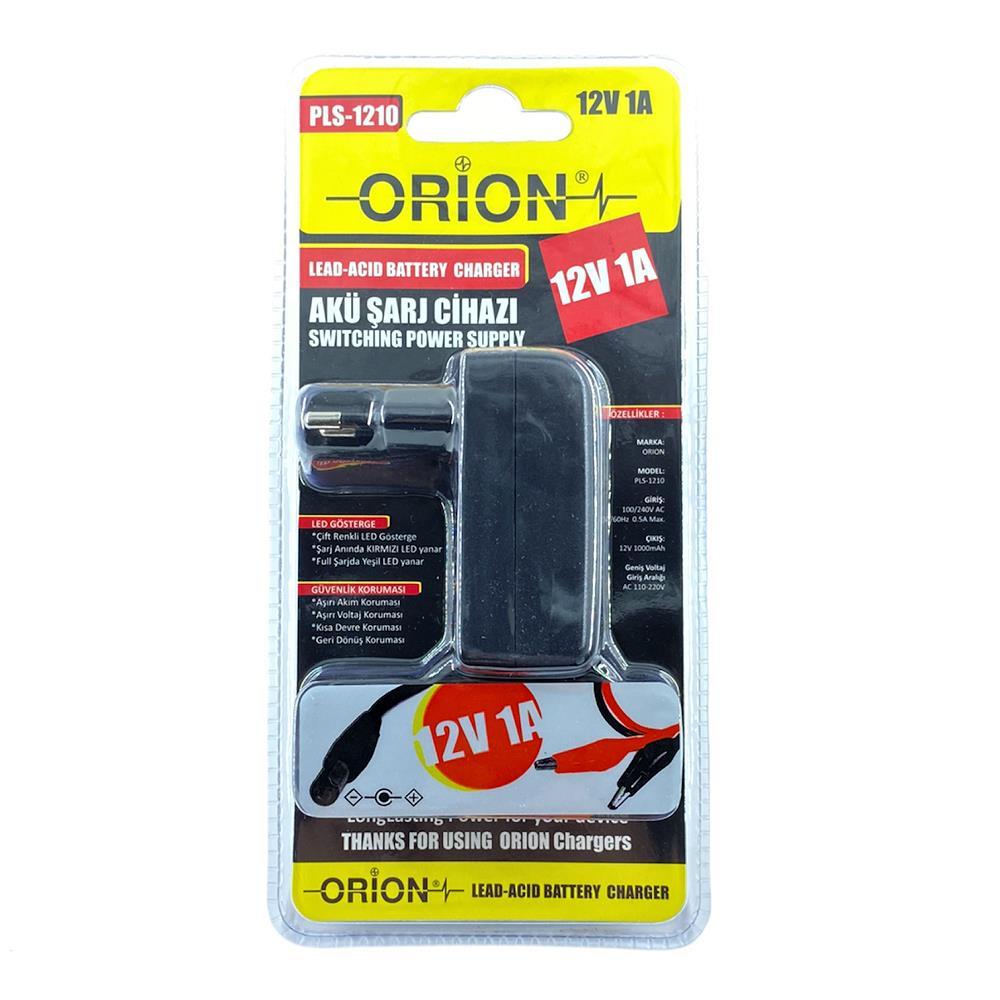 ORION PLS-1210 12V 1A Akü Şarj Cihazı
