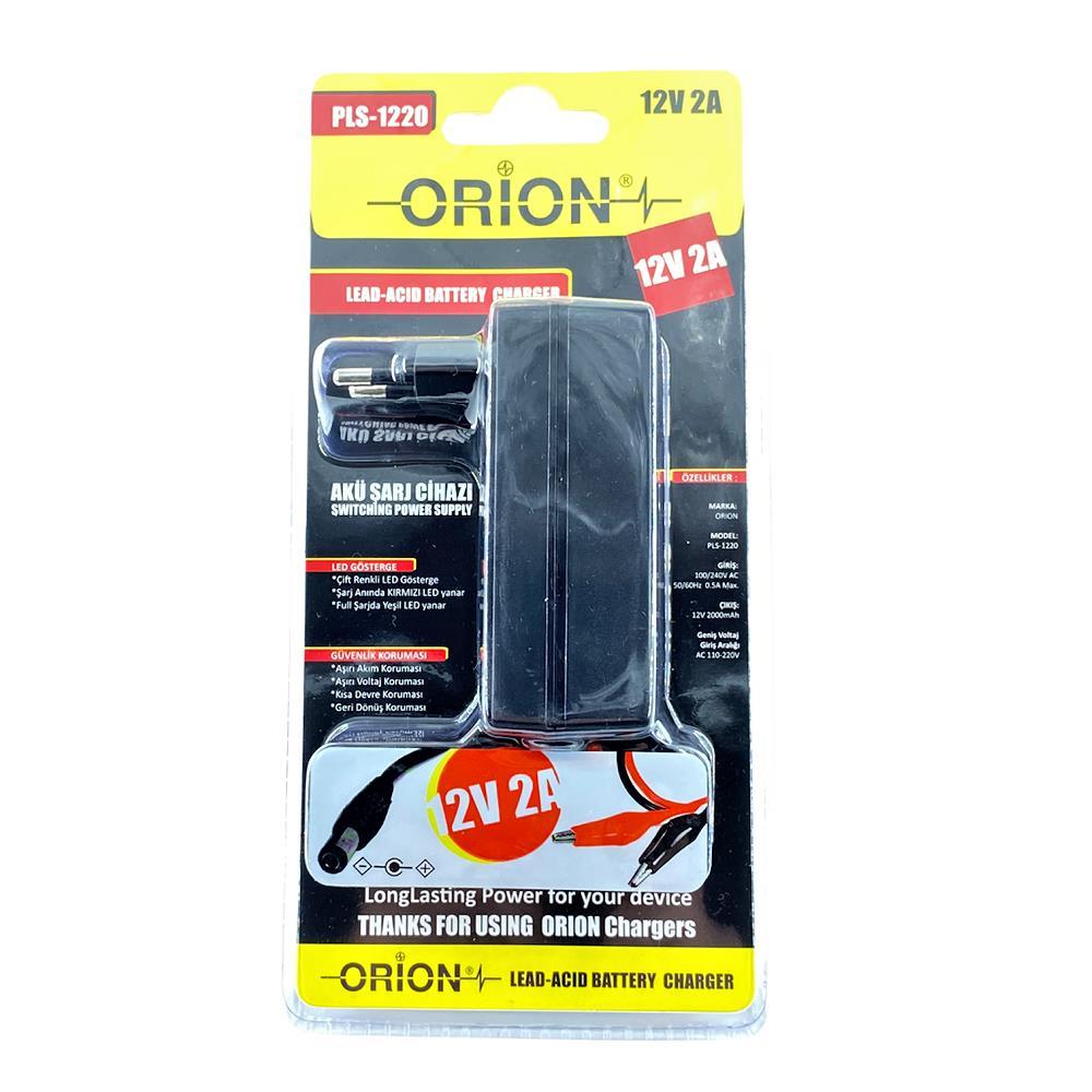 ORION PLS-1220 12V 2A Akü Şarj Cihazı